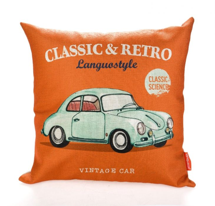 Диванная подушка «Classic & Retro» - Vintage Car