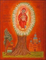 Елецкая Черниговская икона БМ (рукописная)