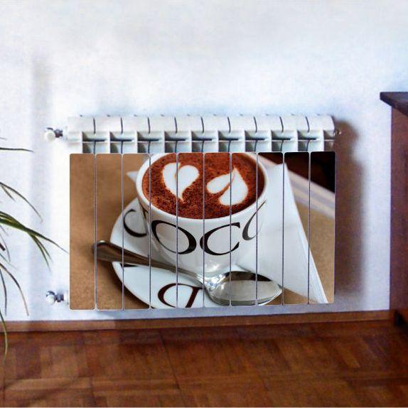 """Фотодекор для радиатора отопления """"Кухня 0004"""""""