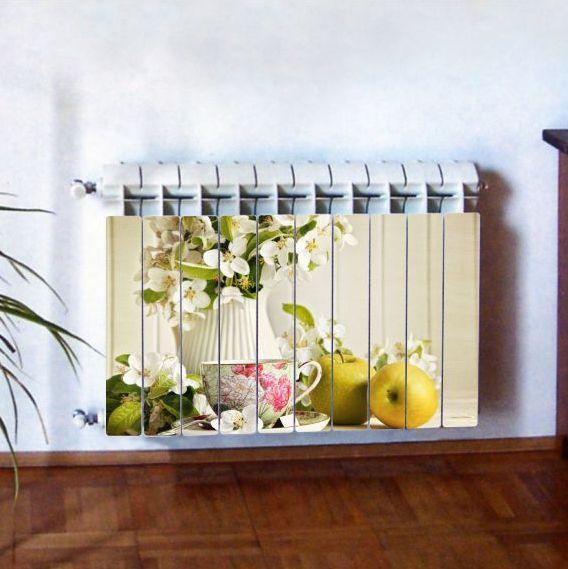 """Фотодекор для радиатора отопления """"Кухня 0008"""""""