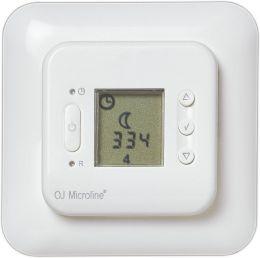 Терморегулятор OJ Microline OCD2  с датч. пола и воздуха, програм.