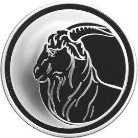 3 рубля 2003 г. Коза