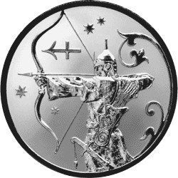 2 рубля 2005 г. Стрелец