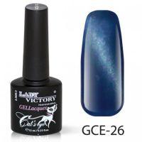 Гель-лак GCE-26 «Кошачий глаз» Lady Victory 7,3 мл.
