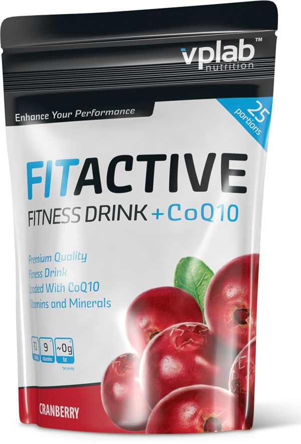 FitActive Fitness Drink + CoQ10 (500 гр.)