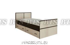 Кровать с ящиками Сакура