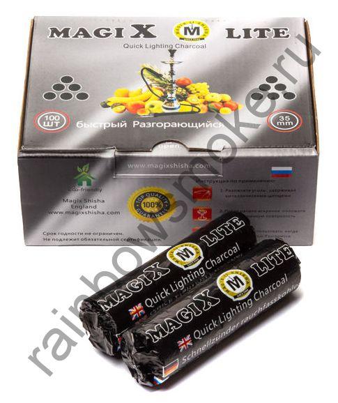 Уголь для кальяна Magix LITE 35 мм (Коробка)