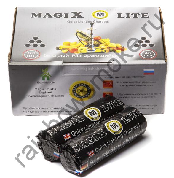 Уголь для кальяна Magix LITE 40 мм (Коробка)