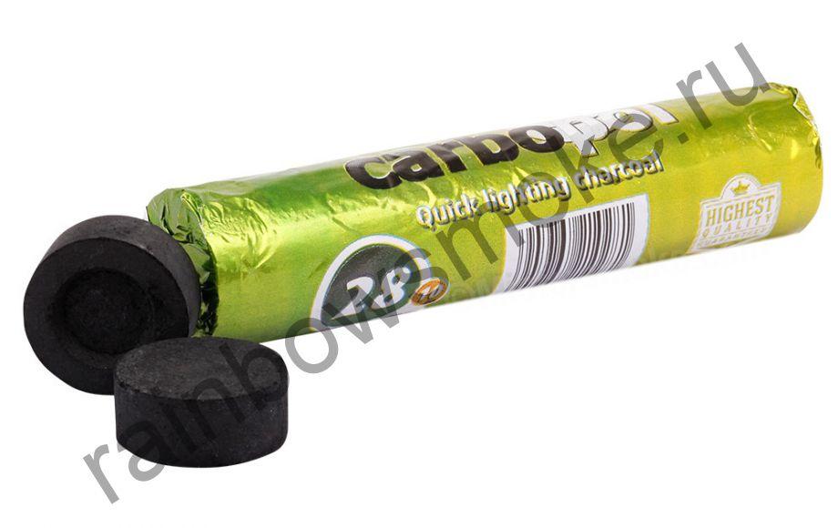 Уголь для кальяна Carbopol 28 мм (Туба)