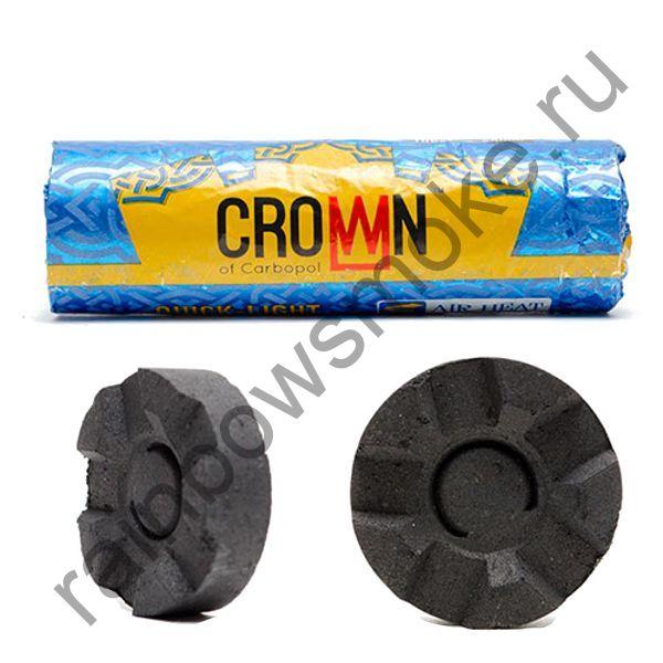Уголь для кальяна Carbopol CROWN 40 мм (Туба)
