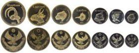 Животные Дагестана Сувенирный набор жетонов (7 жетонов)