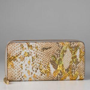 Кошелек женский 1501340; кожа; золотой