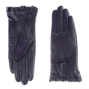 Перчатки женские 02104415344_40; кожа; фиолетовый (Размер 6)