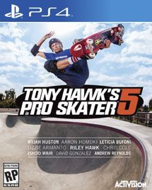 Игра Tony Hawk's Pro Skater 5 (PS4)