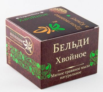 Мыло бельди Хвойное 120 гр
