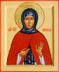 Икона Мария Радонежская (рукописная)