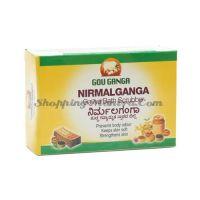 Мыло-скраб для тела Нирмалганга Гоу Ганга / Gou Ganga Nirmalganga Bath Scrubber
