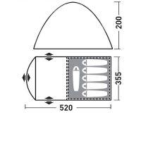 GREENELL КИЛКЕНИ 5 V2 пятиместная просторная палатка