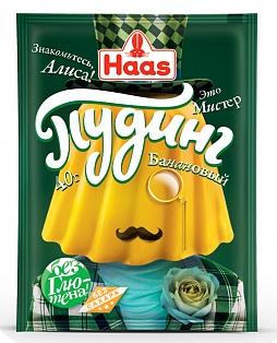 ХААС Пудинг банановый 40г