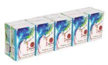 """Maneki платочки бумажные """"Sumi-e"""" 3 слоя, без аромата, 10х10 шт."""