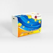 Maneki Салфетки бумажные серия Dream 2 слоя, белые, 150 шт./упаковка