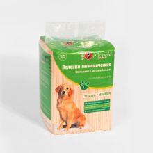 Пеленки гигиенические для домашних животных Maneki, серия Yo-Yo, размер L, 60х90 см, 25 шт./упаковка