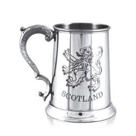 """Кельтский Танкард - Геральдический Шотландский Лев """"SCOTLAND"""" (объём. 1 пинта)"""