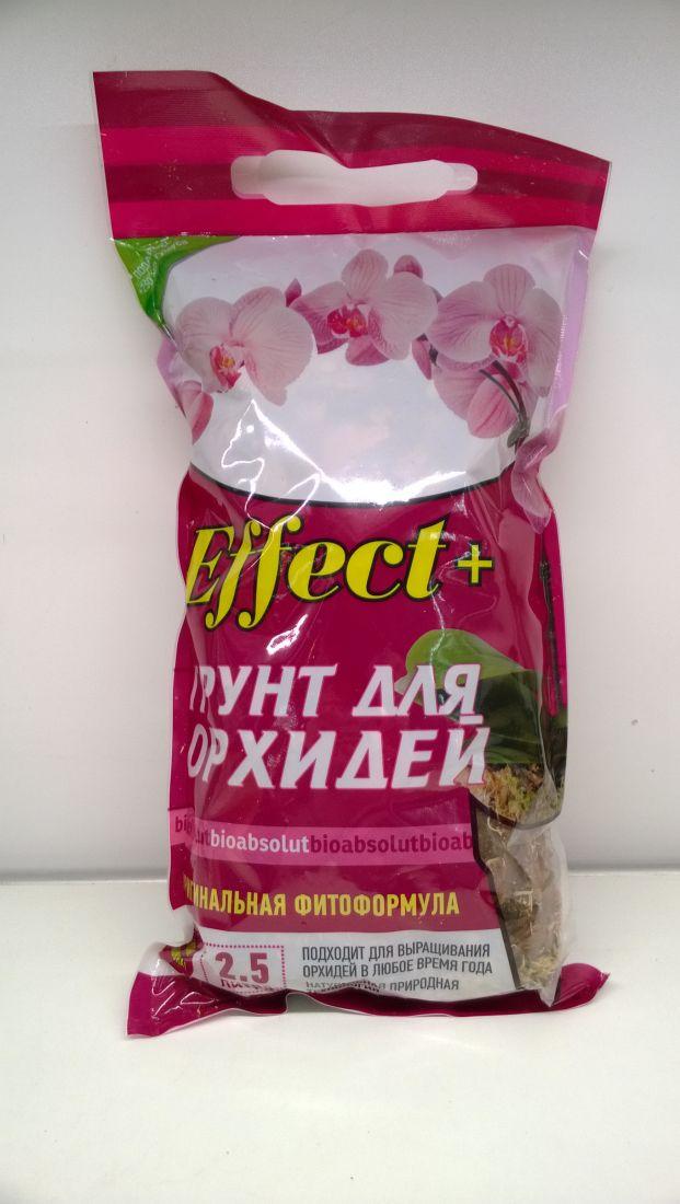 Грунт для орхидей Effect+, 2,5л
