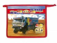 "Папка для тетрадей А4 ""Rally Dakar Kamaz"" на молнии (арт. 80Ш4 804069) (09274)"