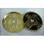 Японская монета с шеллом (3.8см)