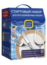 TOP HOUSE Стартовый набор для посудомоечных машин всех типов, 3 пр.