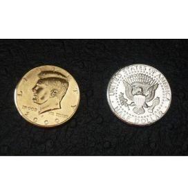 "Half Dollar ""решка"" Gold - ""орел"" Silver (гиммик)"