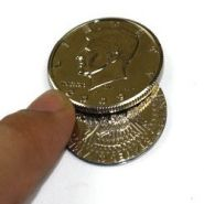 Magnetic Flipper Coin (Half Dollar)