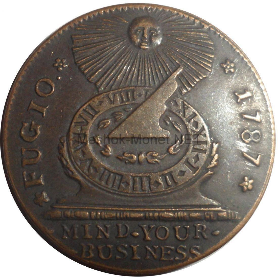 """Копия монеты США 1 цент 1787 года. """"Медный цент"""""""