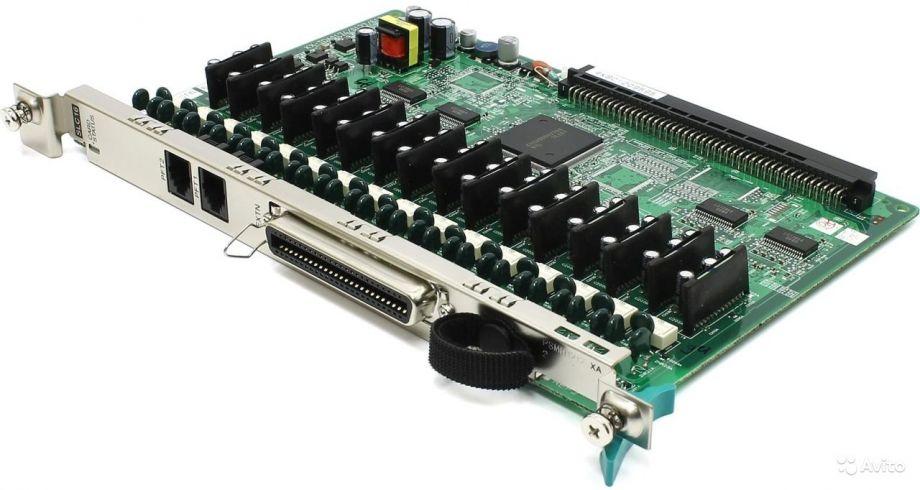 Плата 16 аналоговых абонентов Panasonic KX-TDA0174XJ (SLC16)