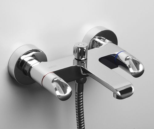 Wasserkraft Lossa 1201 Смеситель для ванны с коротким изливом