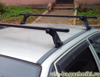 Багажник на крышу Daewoo Nexia Атлант (Россия) - стальные дуги