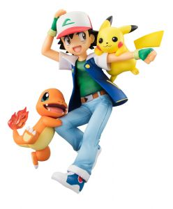Фигурка Pokemon: Ash & Pikachu & Charmander