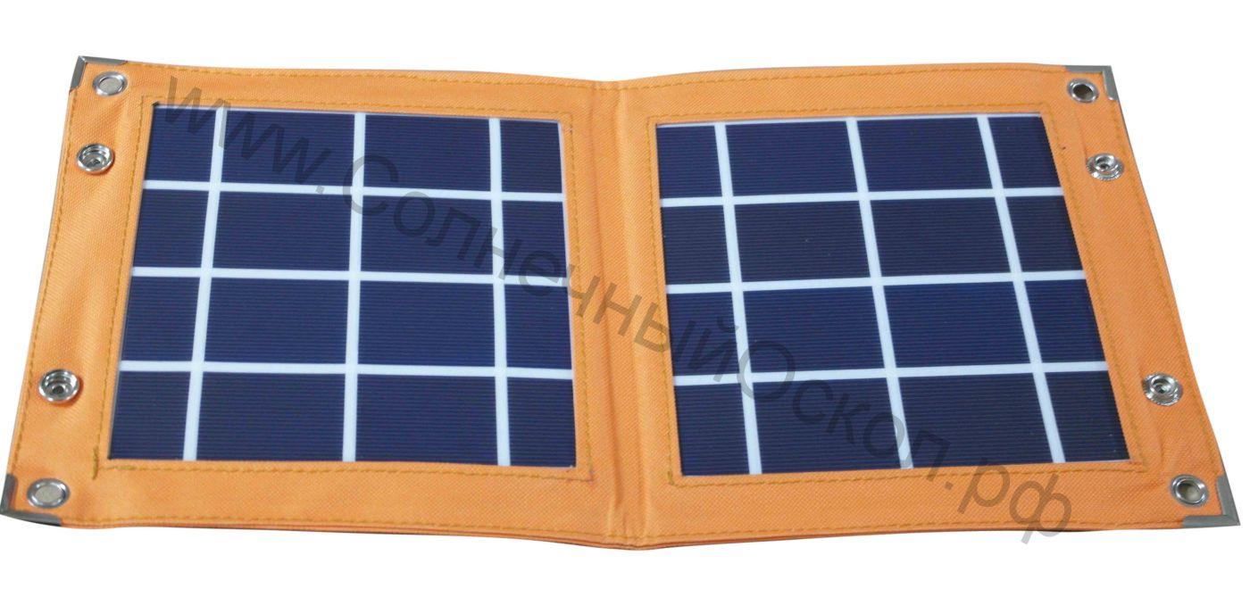 Солнечная панель «СветОК 5-12» 5 ватт 12 вольт (мобильная, раскладная)
