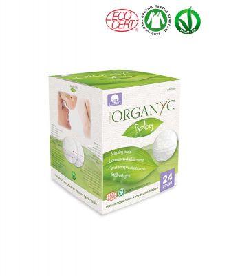 Впитывающие вкладыши для груди Organyc
