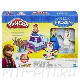 Hasbro PLAY-DOH. Плей-до. Набор Холодное Сердце
