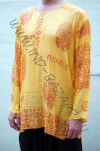 Мужские индийские рубашка из марлевки