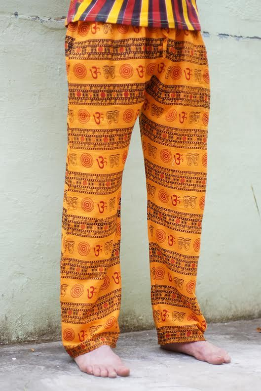 Летние штаны из хлопка, унисекс (отправка из Индии)