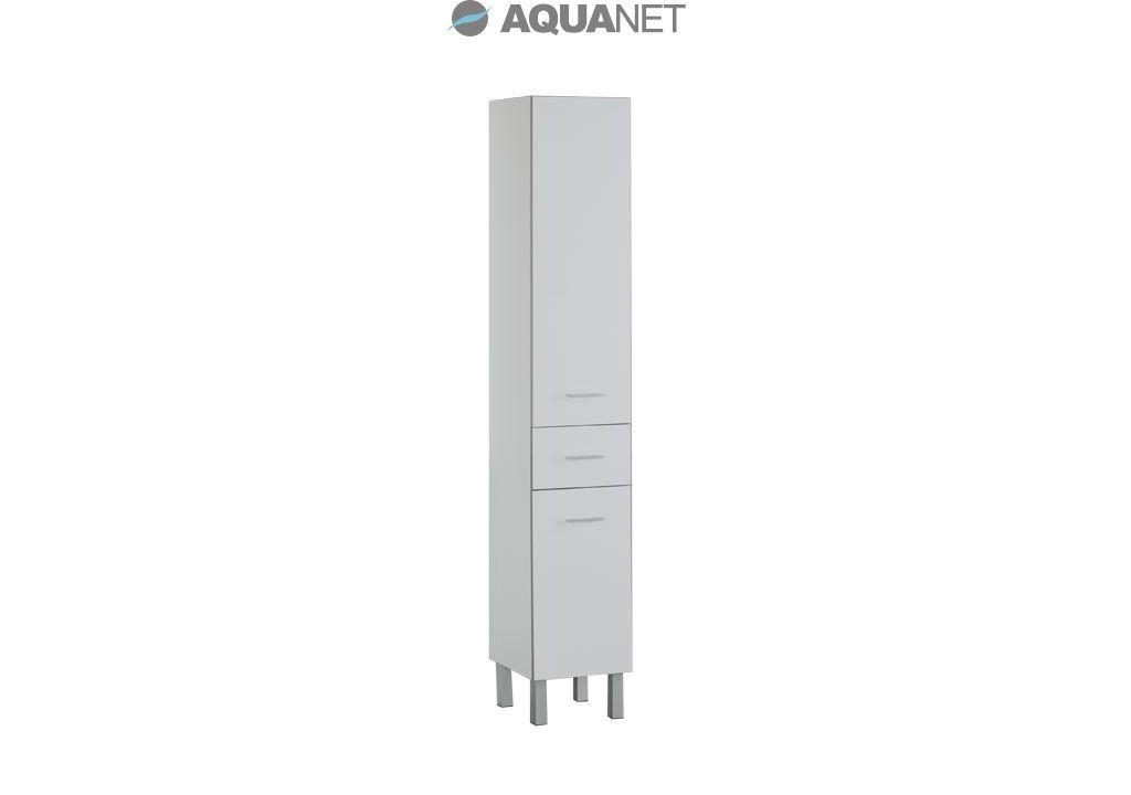 Пенал Aquanet  Верона 35 напольный, цвет белый (178970)