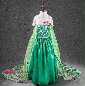 Костюм Эльзы платье Холодное сердце Летнее рост 110-120 см
