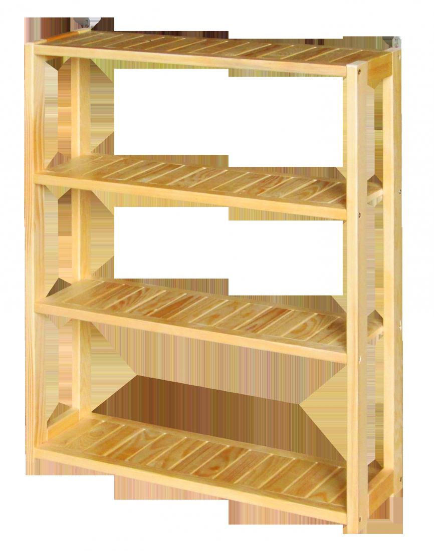 Полка навесная с покрытием крашеная ПН-60-4-К