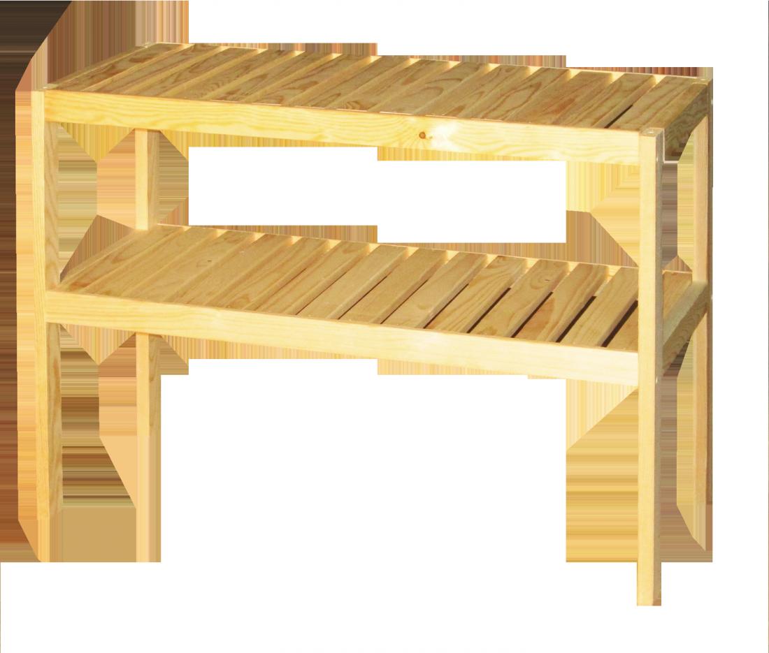 Стеллаж хозяйственный универсальный без покрытия СЛ-55-Б