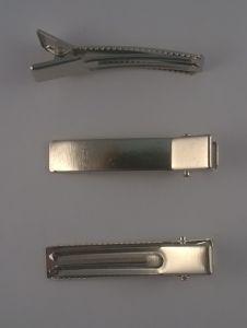 Заколка основа (металл) 6 см (1 упаковка = 50 шт)