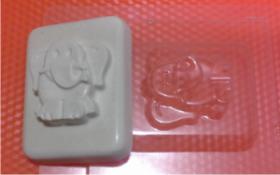 Форма для мыла Слоник