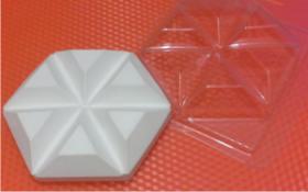 Форма для мыла Геометрия Треугольник